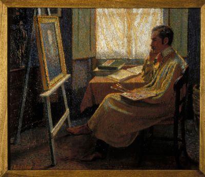 Domenico Baccarini, Il pittore Odoardo Neri