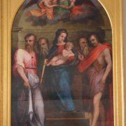 Sigismondo Foschi (documentato dal 1520 al 1532), Madonna con il Bambino e i Santi Bartolomeo, Giovanni Battista e altri due Santi