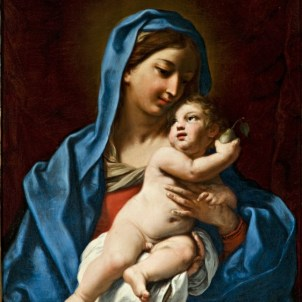 Elisabetta Sirani (Bologna, 1638 – 1665), Madonna col Bambino