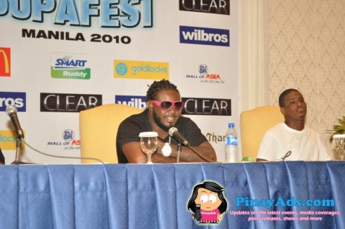 T-Pain during the Supafest Press Conference