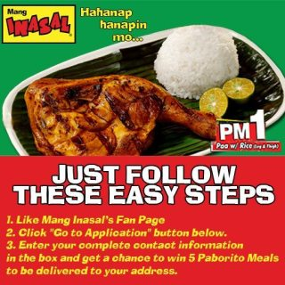 Mang Inasal now Delivers! Dial 733-1111