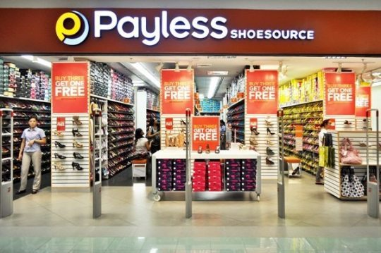 Buy 3 get 1 free at Payless Shoesource