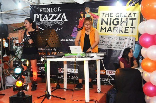 The Great Night Market at Venice Piazza, McKinley Hill