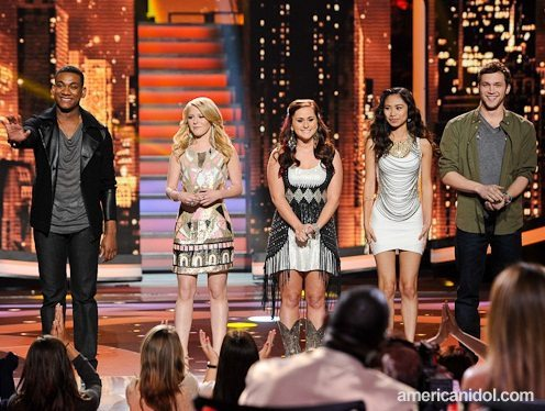 American Idol 2012 Top 5 Performance Recap