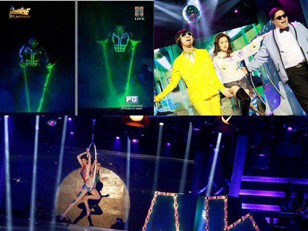 Anne and Karylle, Jugs and Teddy, Billy and Vhong It's Showtime 3rd Anniversary Winners