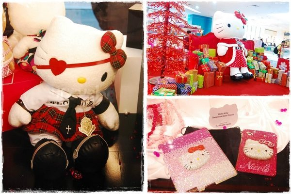Hello Kitty Christmas At SM City North Edsa!