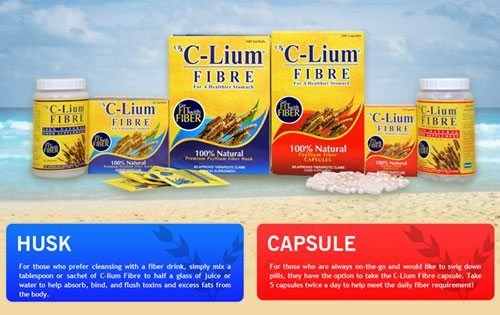 The Benefits of Fiber From C-Lium Husk or Capsules