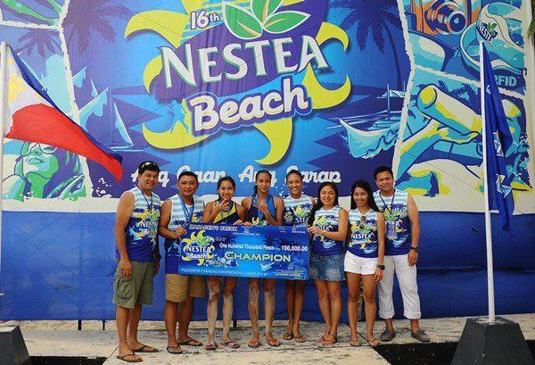 16th-NESTEA-Beach-Women's-Champion-Central-Philippine-University