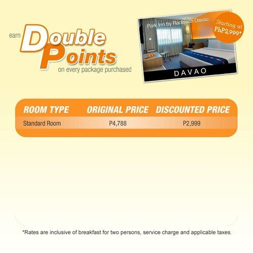 Park Inn by Radisson Davao Promo Package