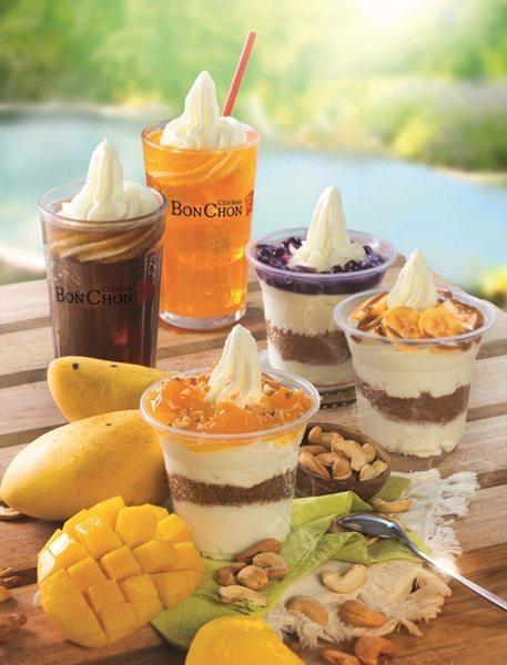A new lusciousness just for summer for BonChon's Ko-Yo, (Korean Yogurt) with the new Mango Sans Rival Ko-Yo.