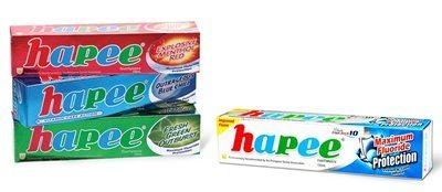 hapeetoothpaste