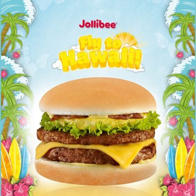 Grab an Amazing Aloha Burger now for a chance to go to Hawaii.