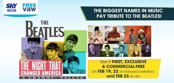 SKYcable Airs Beatles Tribute