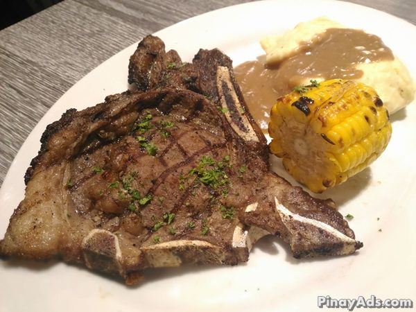 Tender grilled steak served with gravy. PHP 295.00