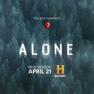 ALONE Season 2 Premieres 21 April, Thursdays at 9:00pm
