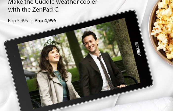 Best-value deal: ASUS ZenPad C (Z170CG) for PHP 4,995.00 only