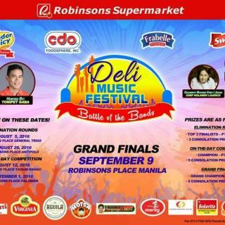 Robinsons Supermarket 'Deli Music Festival' Grand Finals