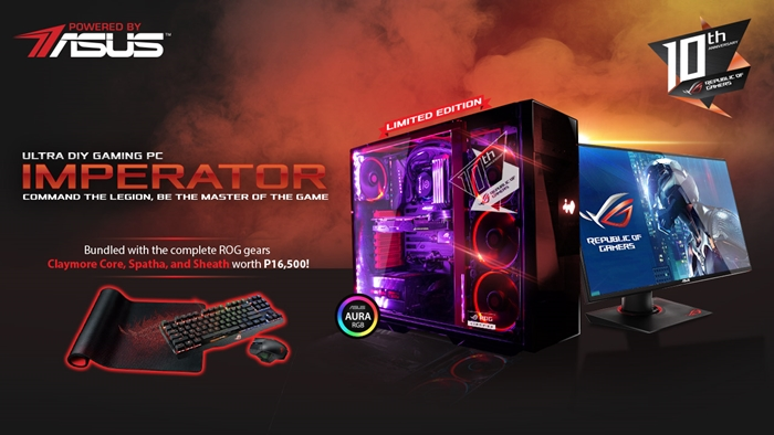 ASUS announces ROG Imperator Ultra Gaming DIY PC