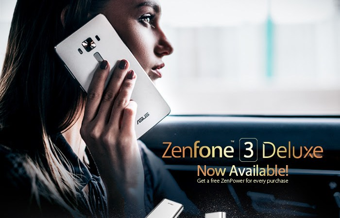 ASUS Zenfone 3 Deluxe is NOW Available!