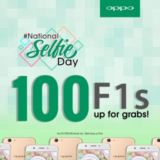 OPPO's #NationalSelfieDay is on every #SelfieExpert's Holiday Wishlist