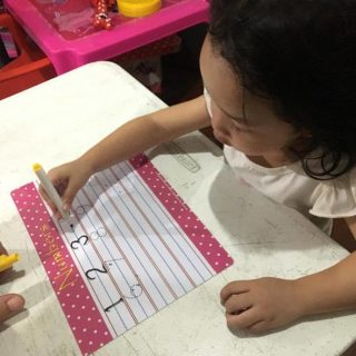 Starting Early with the Erasable Traceable Writing Board