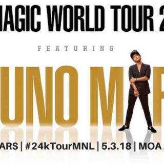 "Bruno Mars ""24K Magic World Tour"" Live in Manila 2018"