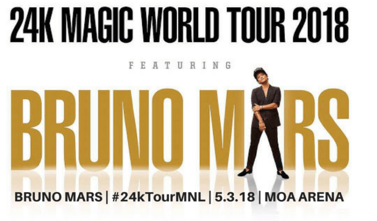 "Bruno Mars ""24K Magic World Tour"" Live in Manila 2018"