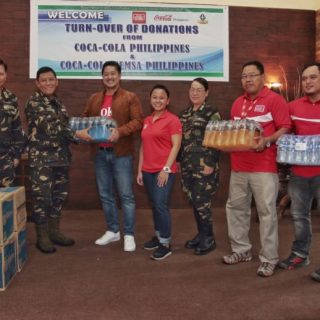 The drink for every soldier: Coca-Cola powers Filipino troops in Marawi with beverage supply