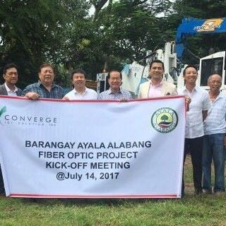 Converge powers Ayala Alabang with pure fiber Internet