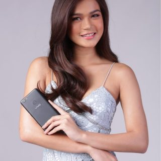 Maris Racal could not get enough of the Vivo V7+'s top-of-the-line features