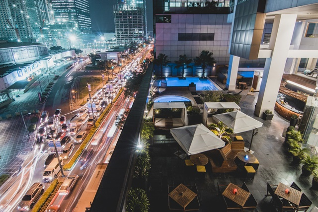 F1 Hotel Manila Welcomes 2018 with a Splash