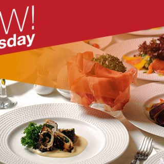 """Have a """"WOW Wednesday"""": Dine out with 50% off ALL DAY this April 18!"""