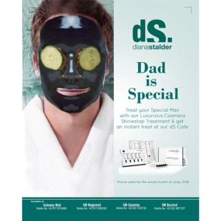 Treat Your Special Man at Diana Stalder this Father's Day