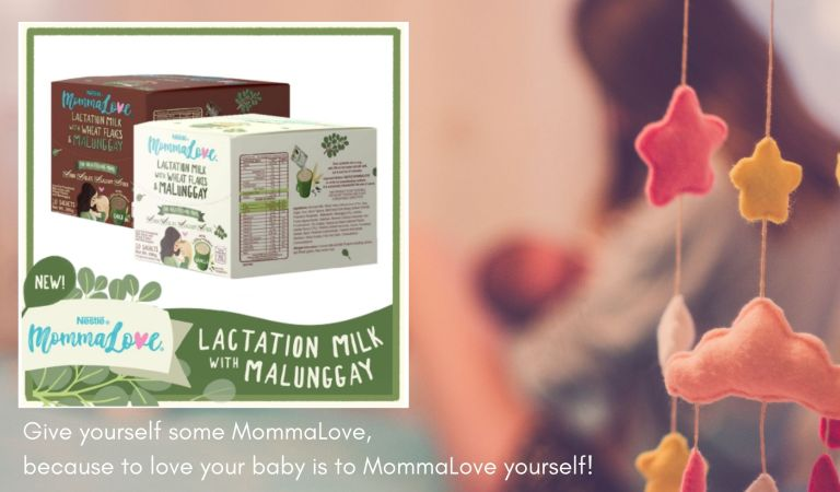Give Yourself Some Love, Get Nestle Mommalove Lactation Milk on Shopee