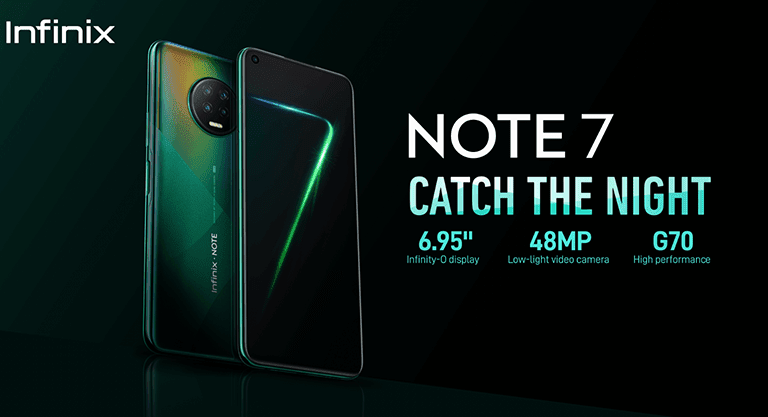Infinix Note 7 exclusively available on Shopee until 23 Aug
