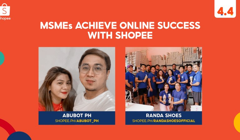 MSMEs Share their Digital Journey in Time for Shopee's 4.4 Mega Shopping Sale
