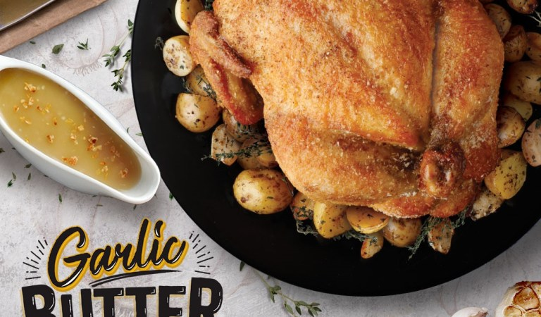 Garlic – butter combo just makes everything better!