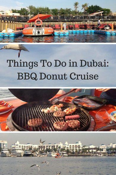 Things To Do in Dubai- BBQ Donut Cruise