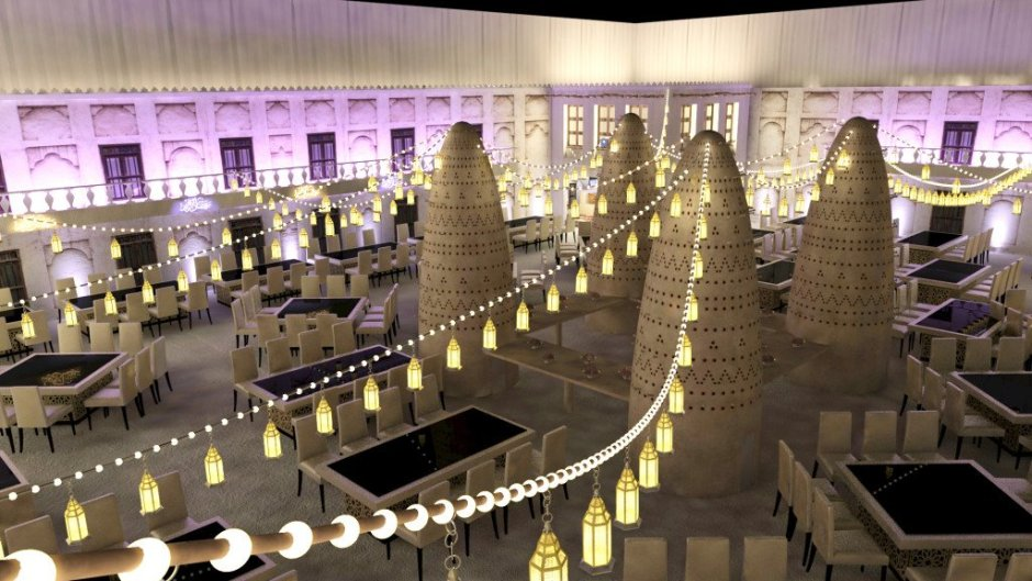 St Regis Doha Ramadan 2015