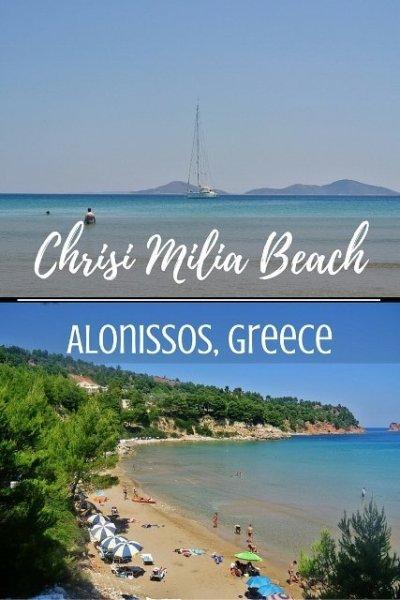 Chrisi Milia Beach, Alonissos, Greece