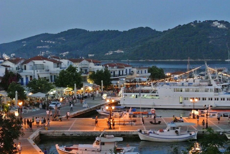 Skiathos Old Town, Greece