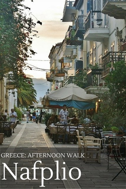 Photo walk around the Old Town of Nafplio, Greece