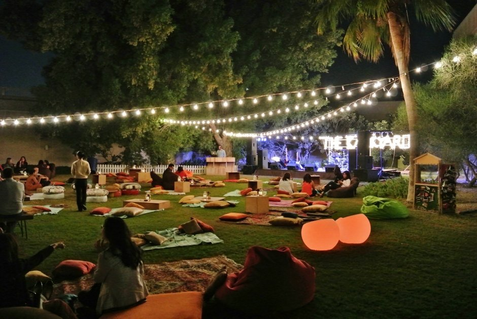 Backyard at The Lagoon, The Ritz-Carlton Doha