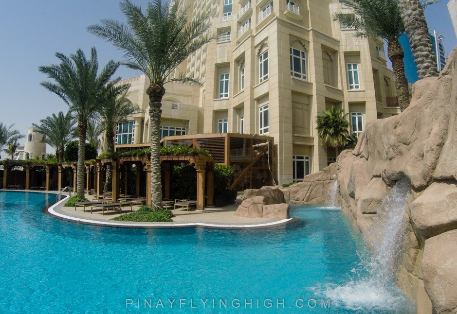 Pool and beach access at Four Seasons Doha, PinayFlyingHigh.com-10