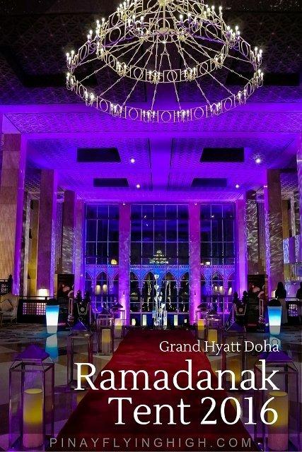 Ramadanak Tent, Grand Hyatt Doha, PinayFlyingHigh.com