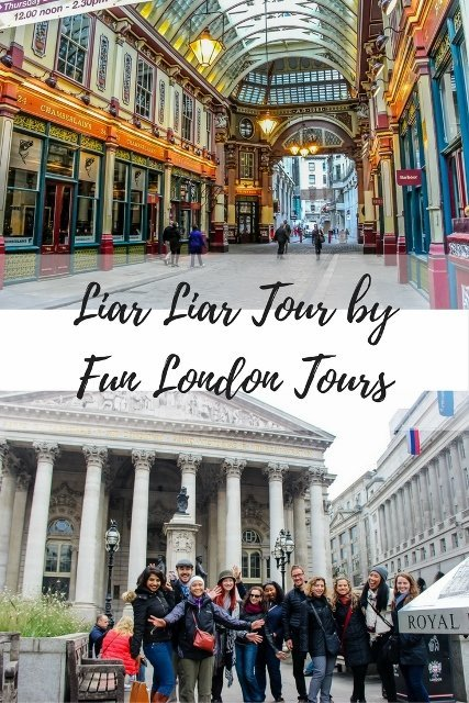 Unique Tours in London: Liar Liar Tour by Fun London Tours