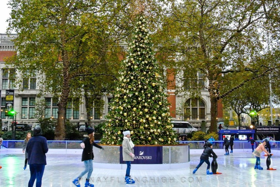 Natural History Museum Ice Rink, London - PinayFlyingHigh.com