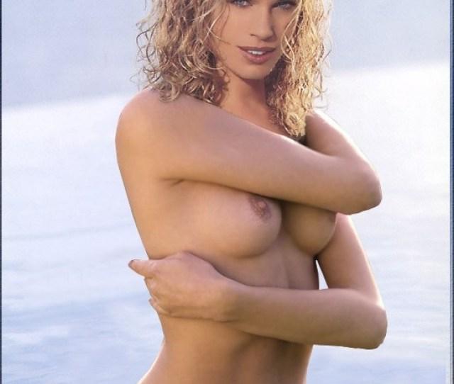 Blonde Rebecca Romijn Nude In A Water