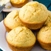 Easy Homemade Southern Cornbread Muffins