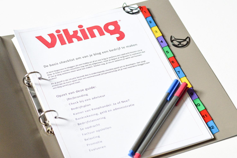 Informatiemap Viking